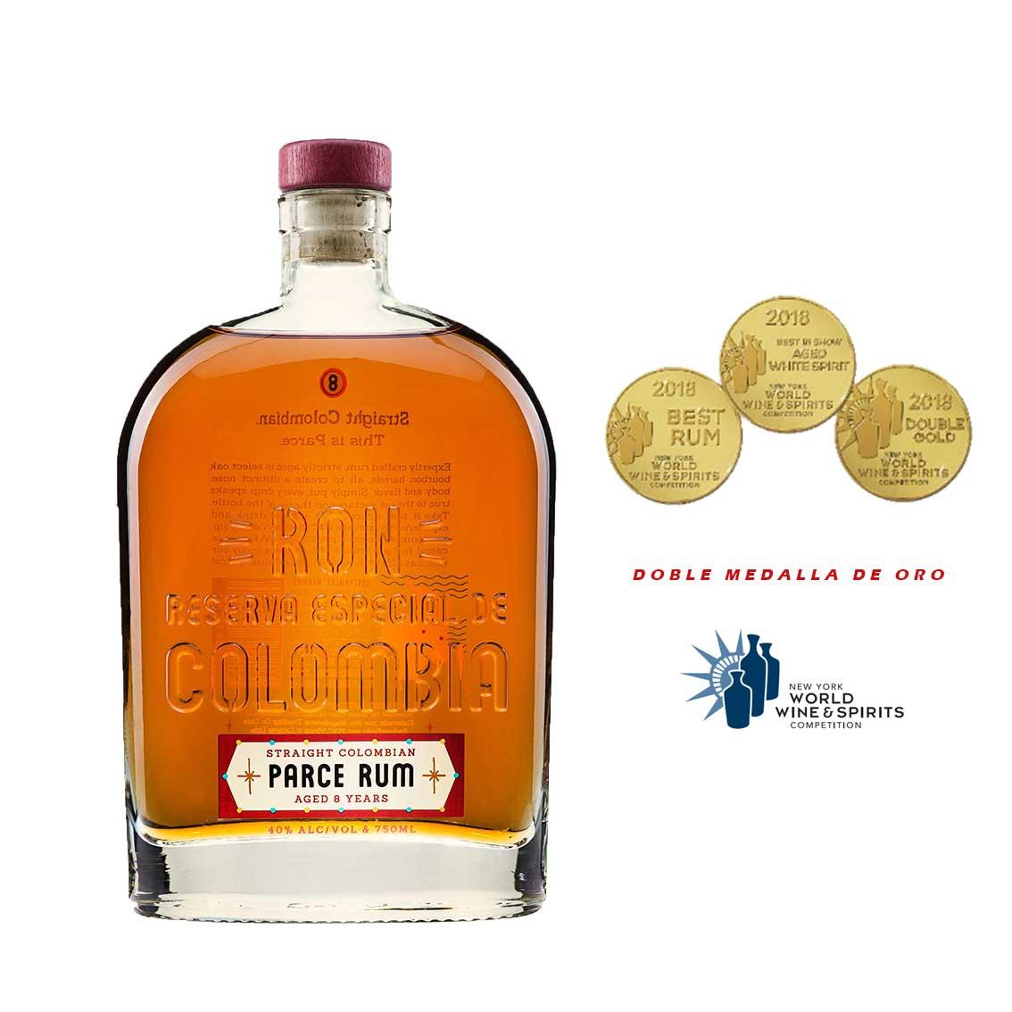 Ron PARCE 8 Años Botella 750ml