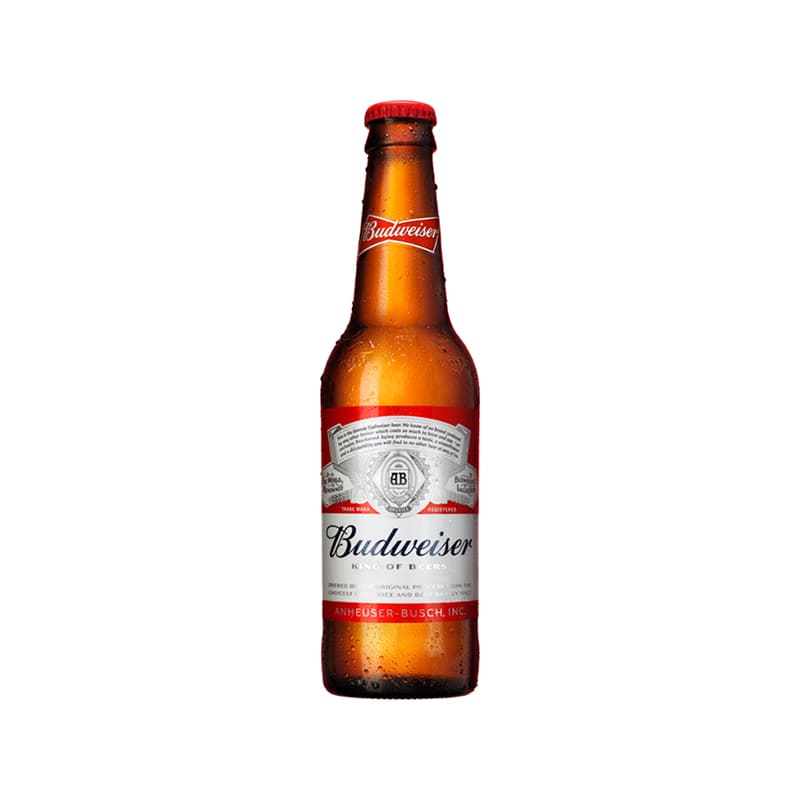 Cerveza BUDWEISER Botella 343ml