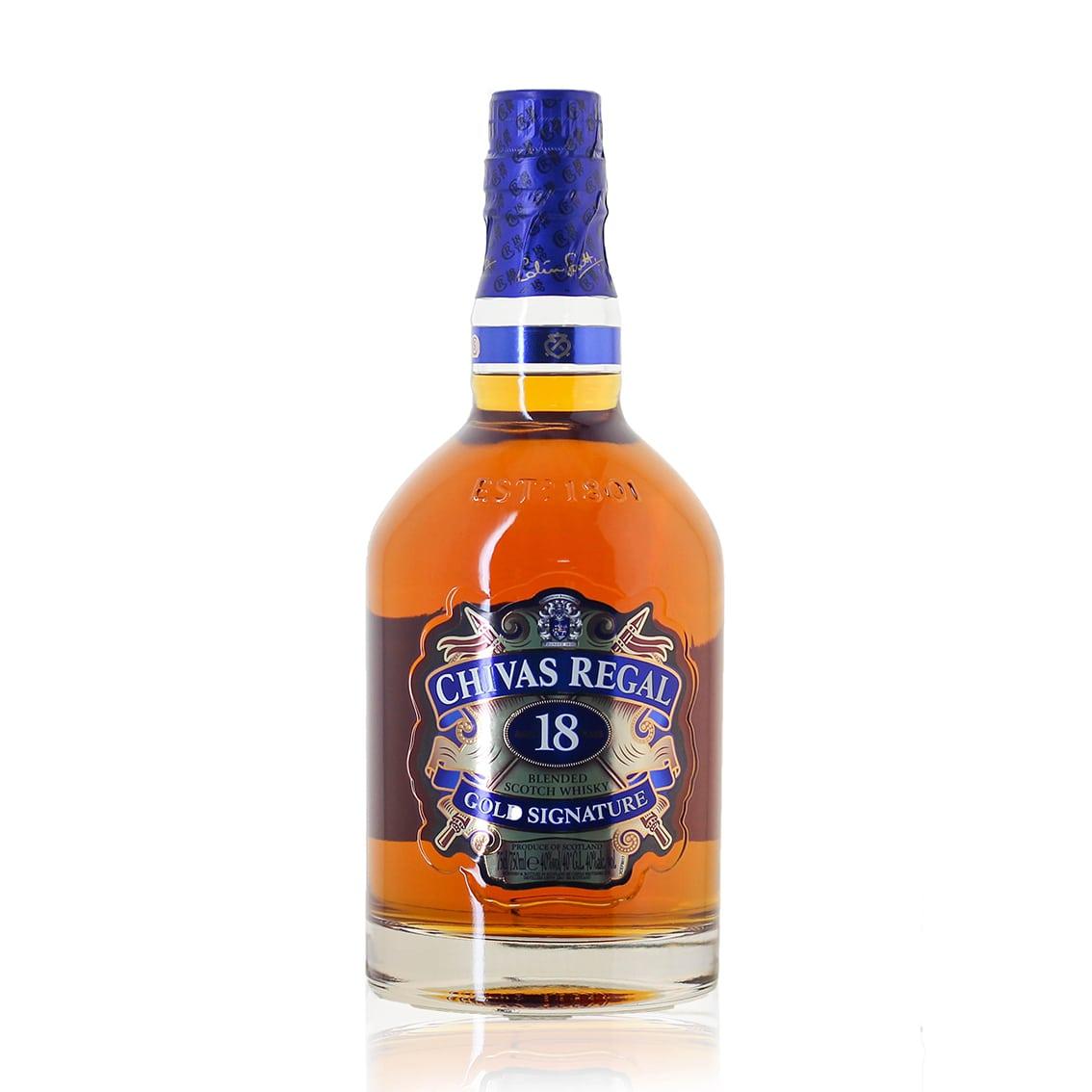 Whisky CHIVAS REGAL 18 Años Botella 750ml