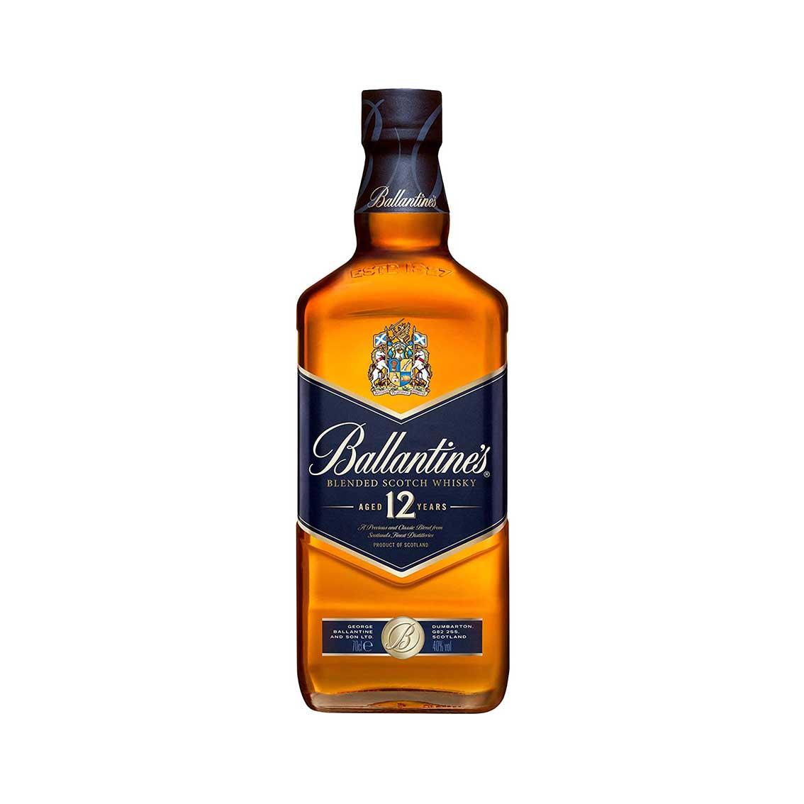 Whisky BALLANTINES FINEST 12 Años Botella 750ml
