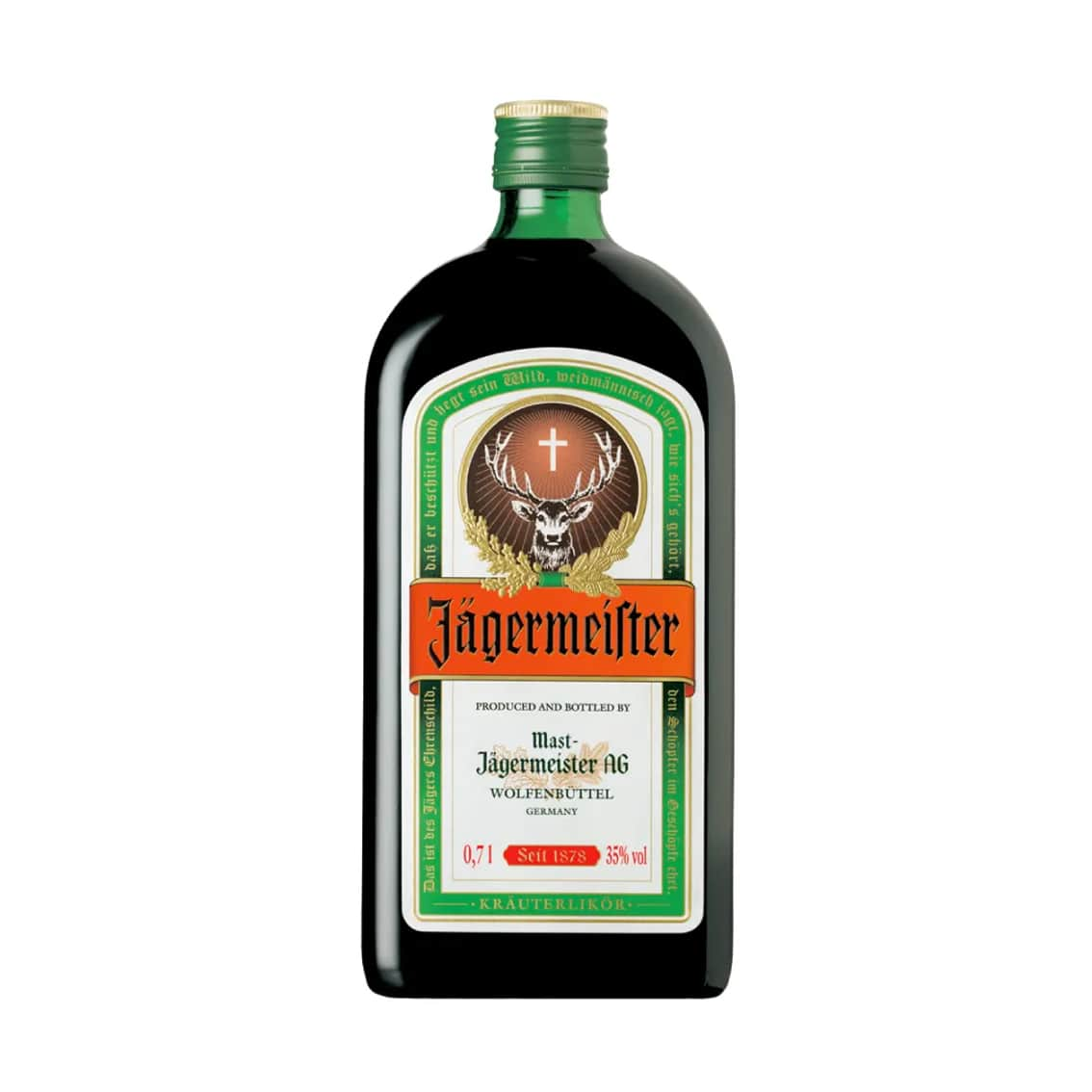 Licor JAGERMEISTER Botella 700ml