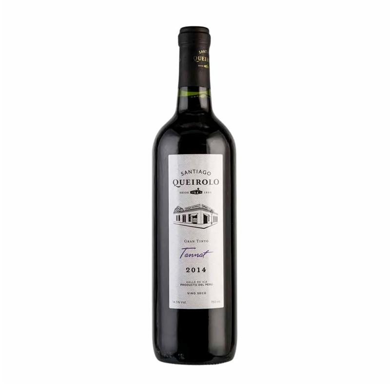 Vino SANTIAGO QUEIROLO Tannat Botella 750ml