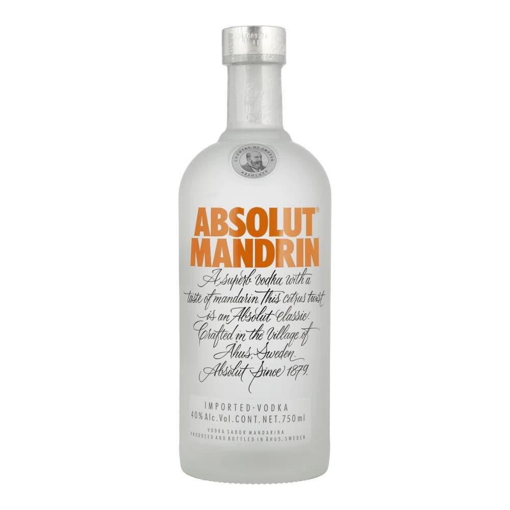 Vodka ABSOLUT Mandrin Botella 750ml