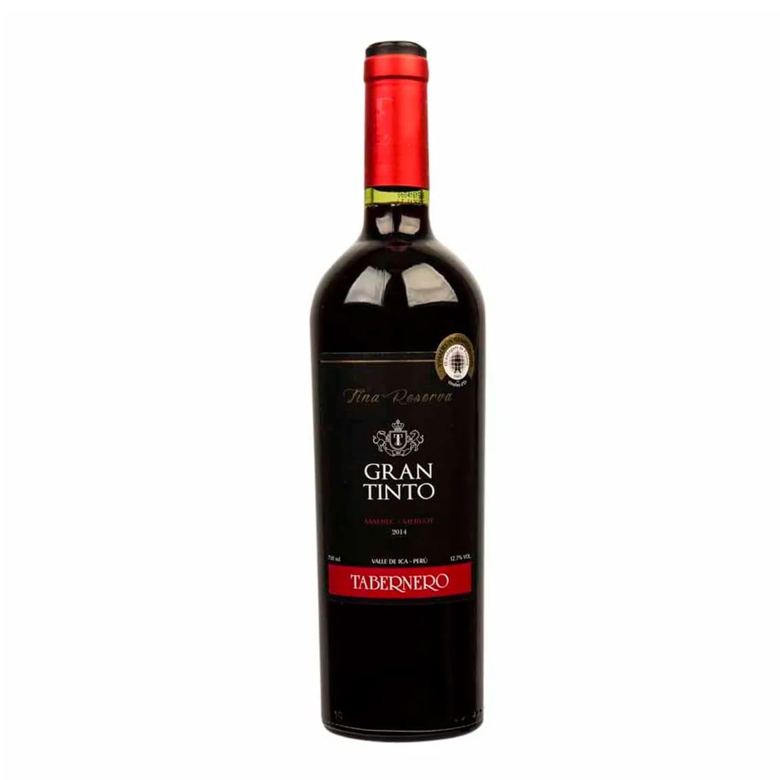 Vino TABERNERO Gran Tinto Botella 750ml