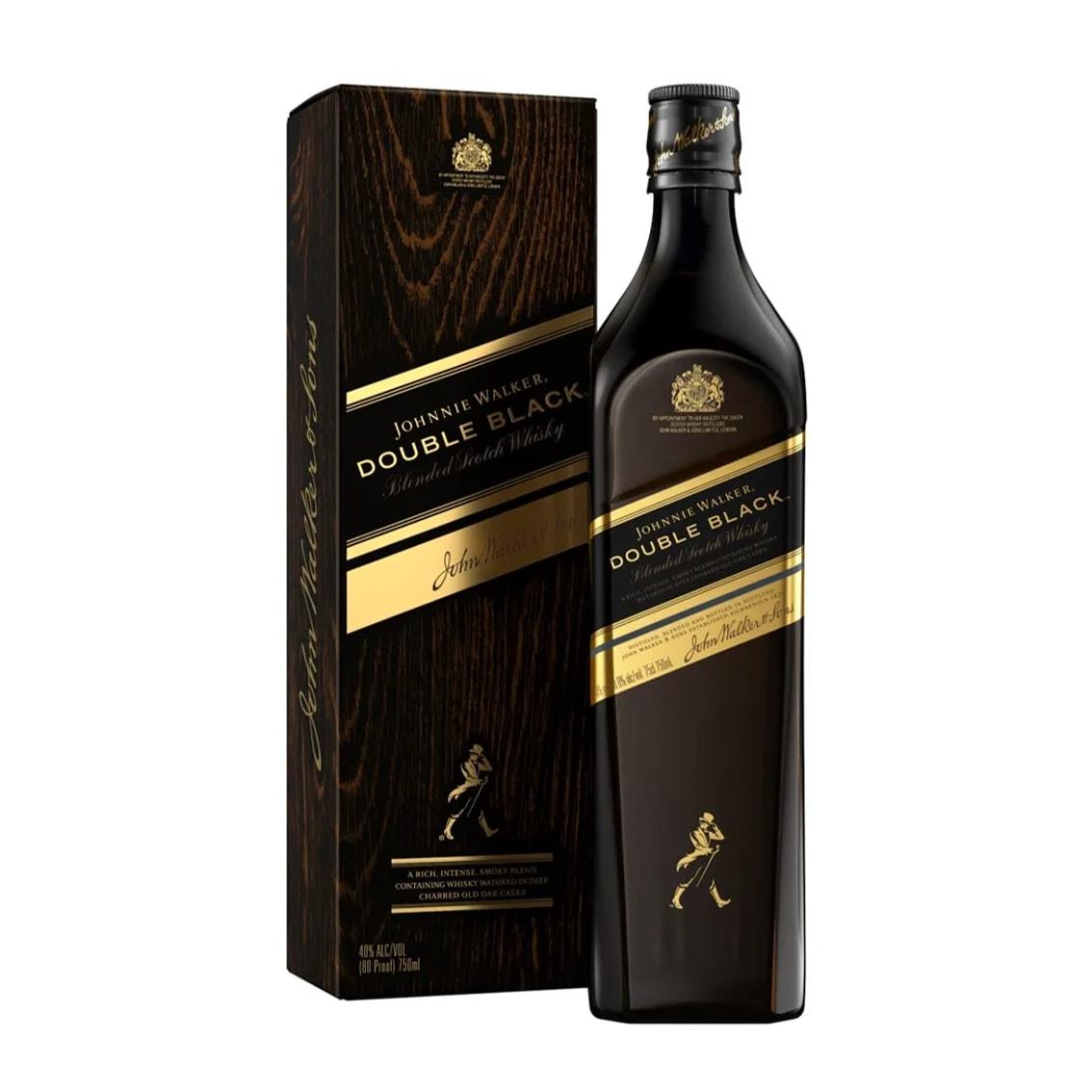 Whisky JOHNNIE WALKER Double Black Botella 750ml