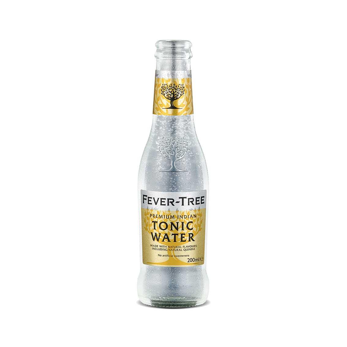 Agua Tónica FEVER TREE Premium Indian Botella 200ml