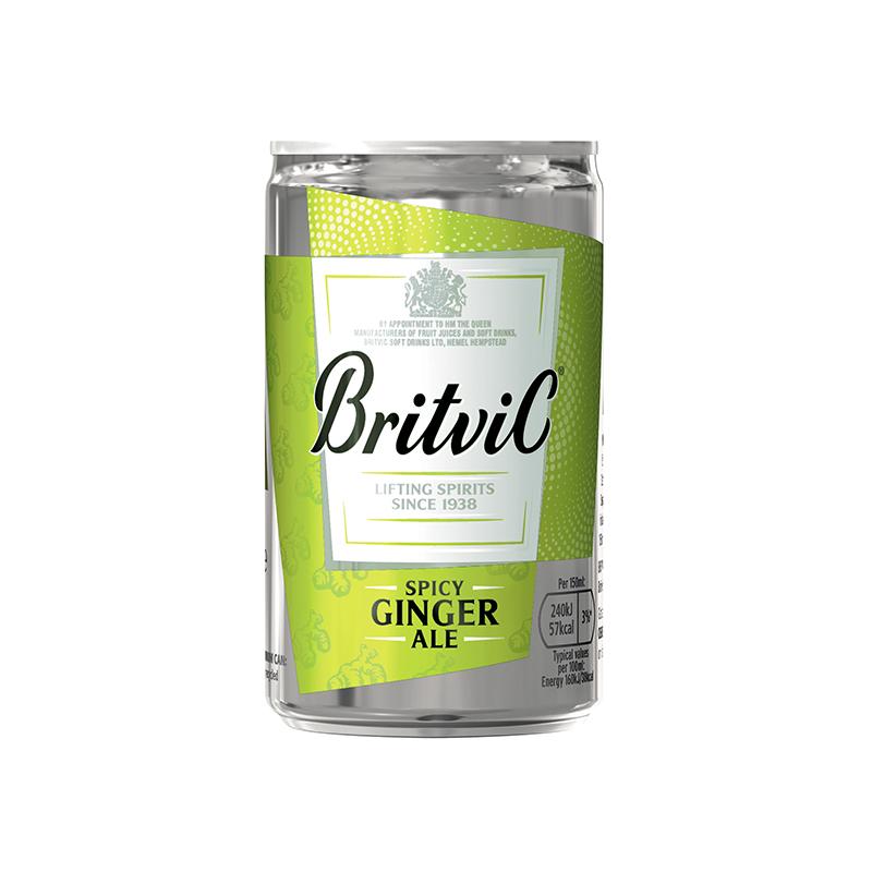 Ginger Ale BRITVIC Lata 150ml
