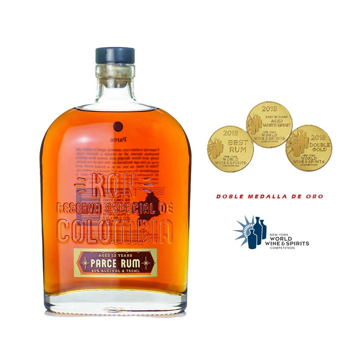 Ron PARCE 12 Años Botella 750ml