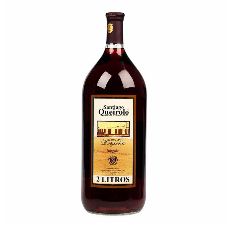 Vino SANTIAGO QUEIROLO Borgoña Botella 2L