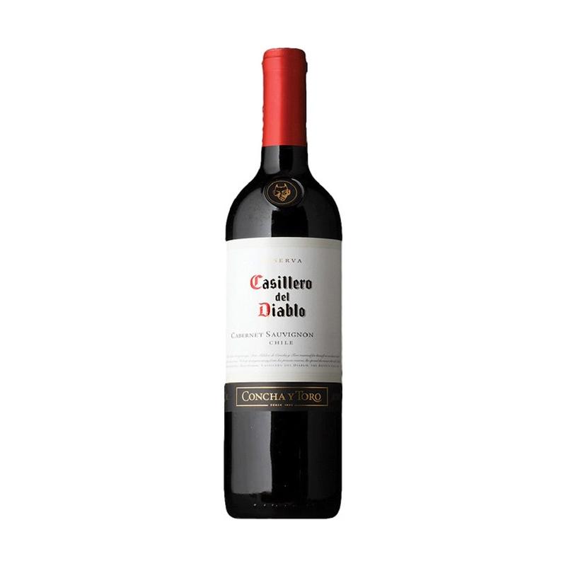 Vino CASILLERO DEL DIABLO Cabernet Suvignon Botella 375ml