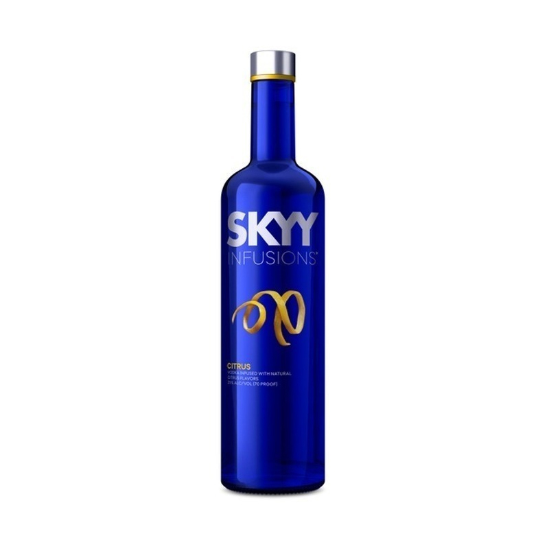 Vodka SKYY Citrus Botella 750ml