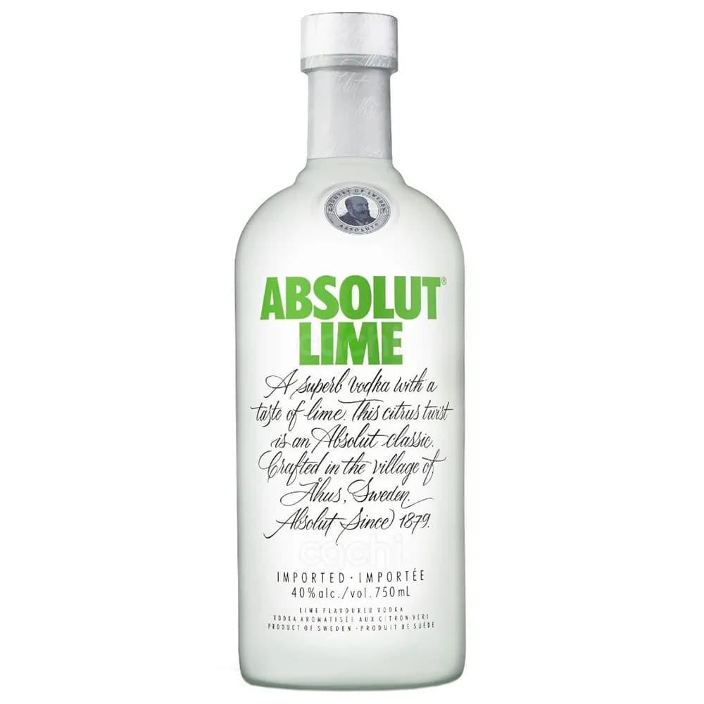 Vodka ABSOLUT Lime Botella 750ml